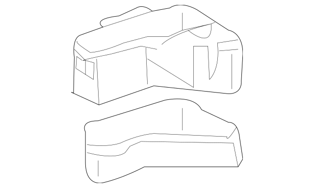 2006-2007 Toyota Highlander Fuse & Relay Box 82721-48061