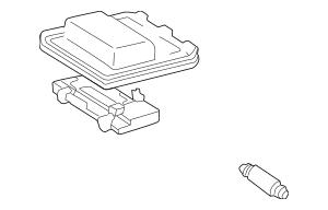 1999-2003 Toyota Solara Overhead Console 63660-AA011-B2