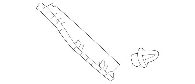 2014-2019 Toyota Highlander Side Trim Panel 64791-0E070-B0