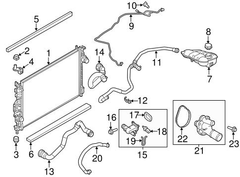 Ford Taurus Coolant System Diagram. Ford. Wiring Diagram
