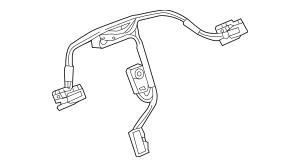 2018-2019 Buick Steering Wheel Wiring Harness 84228224