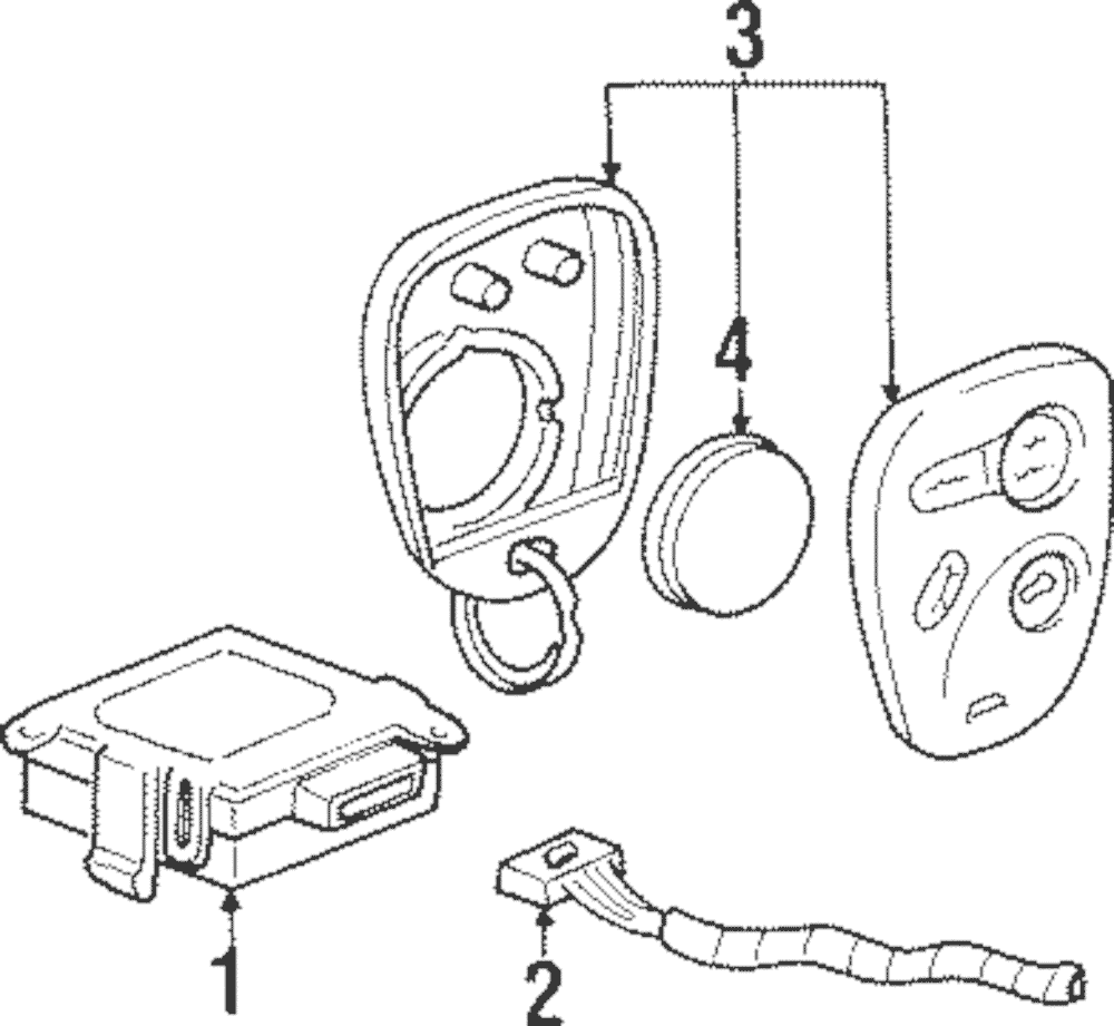 OEM Genuine GM Electrical Wiring Harness Connector 2003