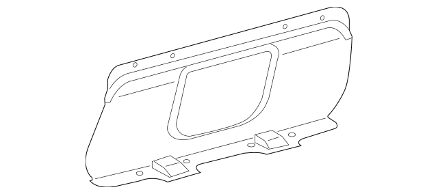 2005-2012 Toyota Avalon Partition Panel 64717-AC050-C0