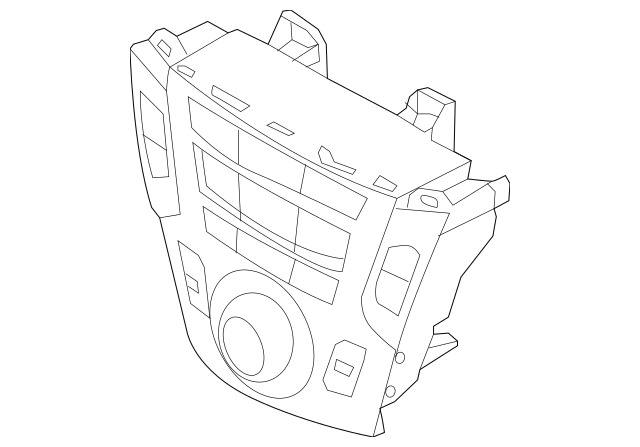 2013-2016 Hyundai Control Assembly-heater 97250-4Z000-4X