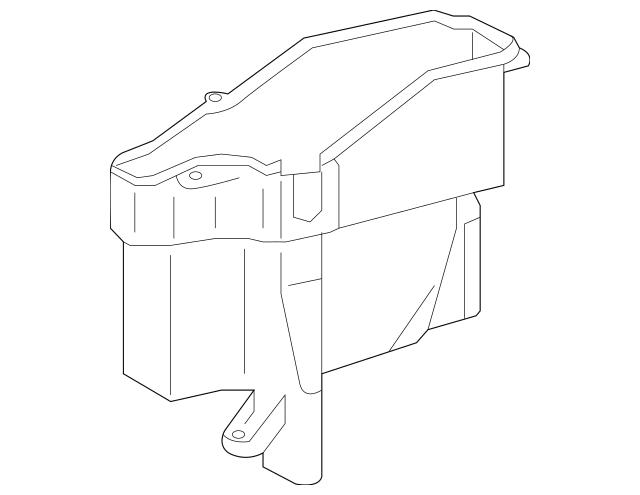 Genuine OEM Lexus Engine Control Module Cover Part# 82771