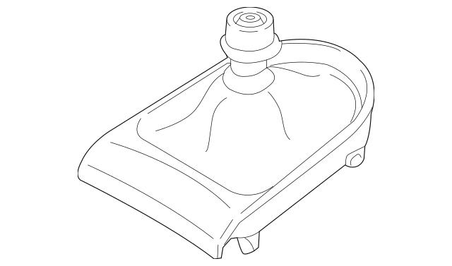 2015-2019 Ford Mustang Manual Transmission Shift Boot FR3Z