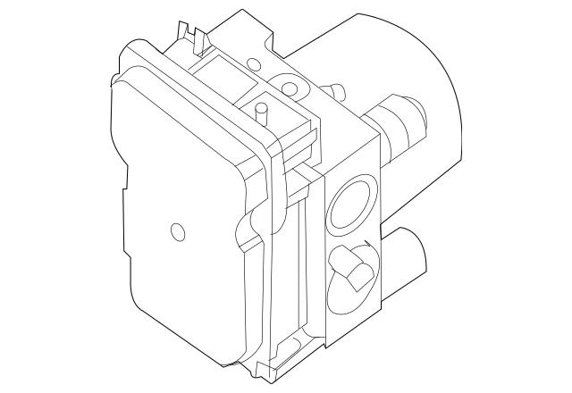 2011-2012 Nissan Altima Modulator Valve 47660-ZX55C