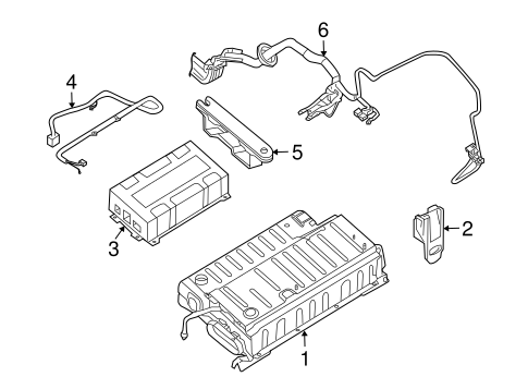 ELECTRICAL COMPONENTS for 2010 Nissan Altima