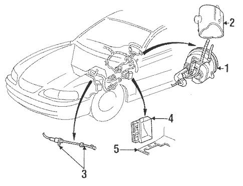 1997 Mustang Fuel Filter