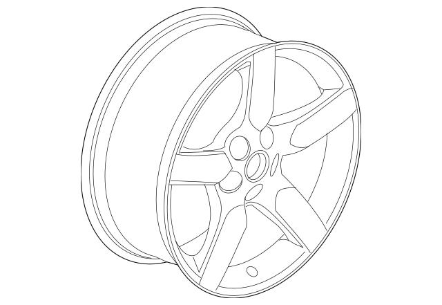2010-2015 Chevrolet Camaro Wheel, Alloy 92197469