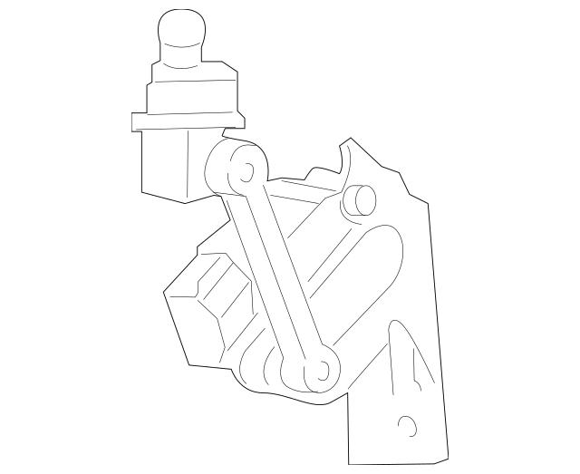2010-2016 Porsche Panamera Level Sensor 970-343-021-03