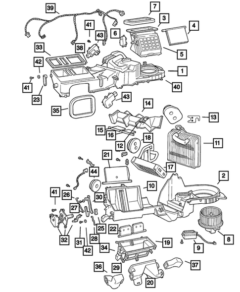 30 2004 Jeep Grand Cherokee Transmission Cooler Lines