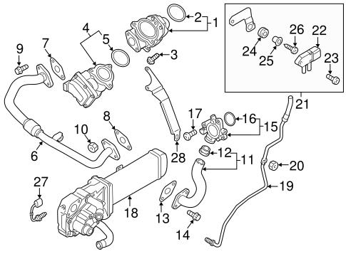 Diesel Aftertreatment System for 2012 Volkswagen Jetta