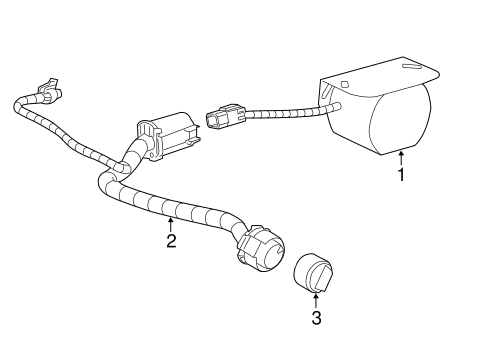 Wire, Cable & Related Components for 2020 Chevrolet
