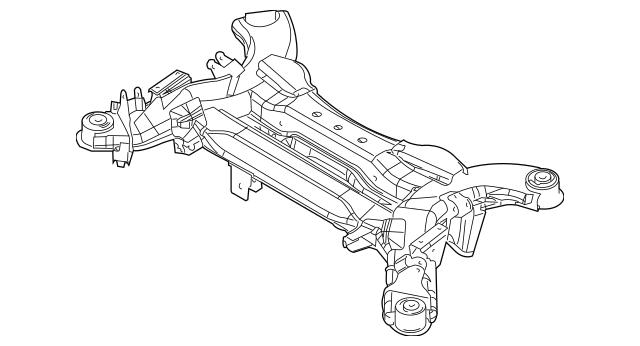 Suspension Cross-member for 2006 Chrysler Pacifica