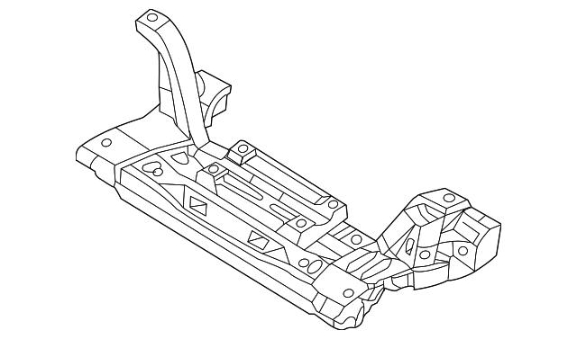 2002-2003 Chrysler PT Cruiser Engine Cradle 5272888AC