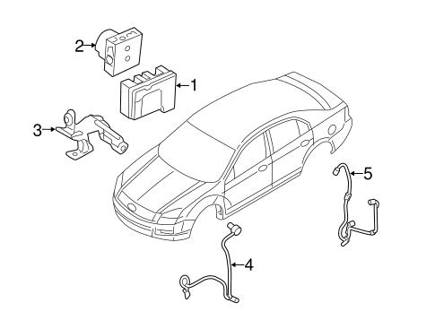 2008 Lincoln Mkz Fuel Filter Location