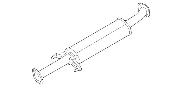 2007-2010 Kia Rondo Intermediate Pipe 28650-1D300