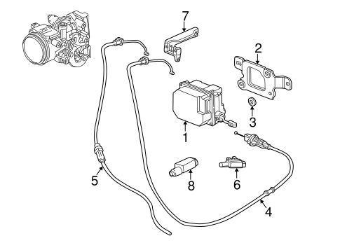 Fuel System Components for 2002 Buick Park Avenue