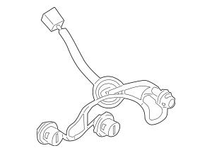 2011-2014 Nissan Juke Socket & Wire 26556-1KM0A