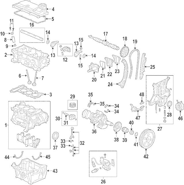 2000-2006 Honda INSIGHT Spacer, Cam Chain Tensioner 14512