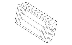 Genuine OEM Air Filter Part# MR968274 Fits 2012-2019