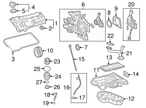Genuine OEM Filters Parts for 2011 Toyota Highlander