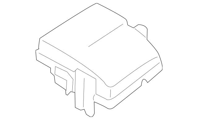 2011-2014 Hyundai Sonata Fuse Box Cover 91950-3S711