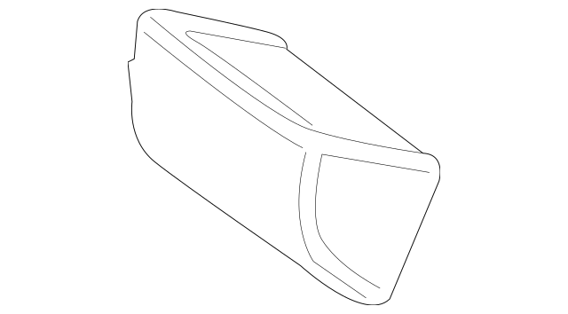 2015-2018 Mercedes-Benz Lower Cover 205-920-26-60-9D88