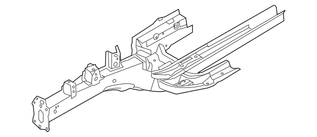 Buy this Genuine 2014 Kia Sportage Rail Assembly 64601