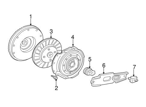 Transmission Components for 1999 Ford F-350 Super Duty