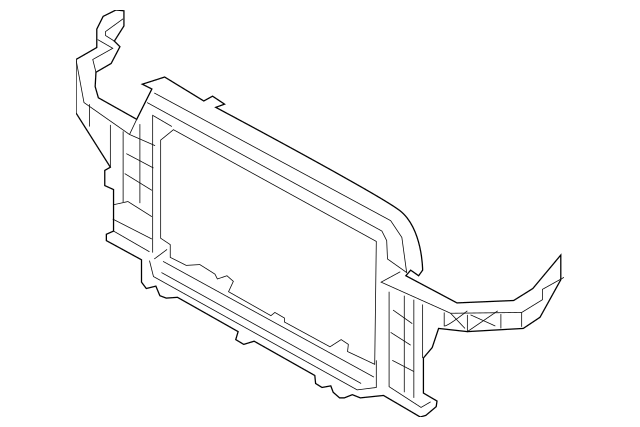 2014-2017 Hyundai Veloster Carrier Assembly-Front End