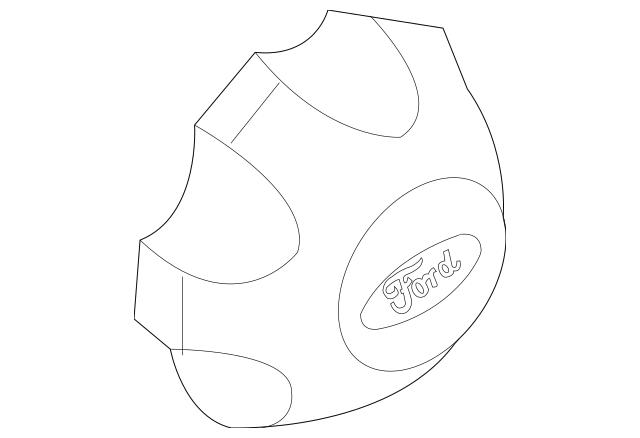 Genuine OEM 2009-2014 Ford Wheel Cap DL3Z-1130-C
