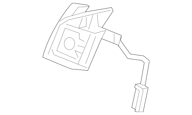 2009-2010 Acura TSX SEDAN Switch Assembly, L Paddle Shift
