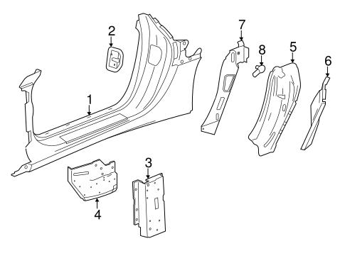 OEM 2016 Chevrolet Corvette Aperture Panel Parts