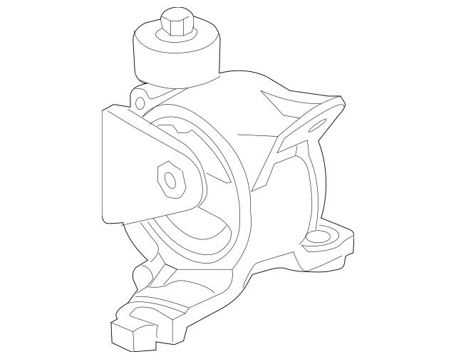 Honda Rubber, Transmission Mounting (50850-TK6-981
