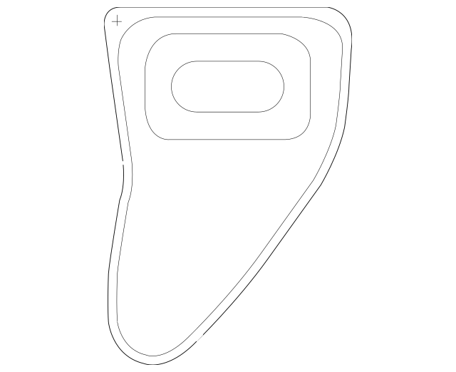 2008-2009 Honda ACCORD COUPE Seal, R Quarter Hole 74514