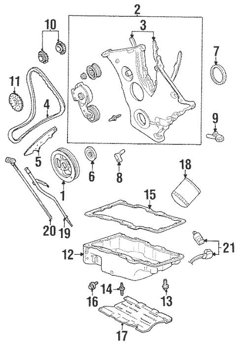 1999 Mercury Cougar Engine Diagram