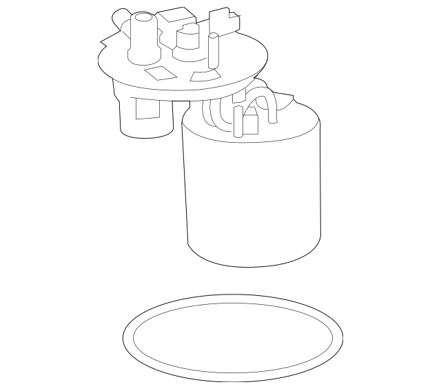 2014-2015 Chevrolet Malibu Electric Fuel Pump 19257809