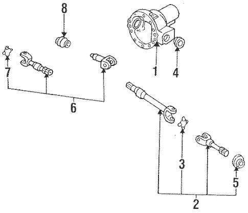 1993 Ford Ranger Front Suspension Diagram