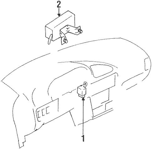 Daytime Running Lamp Components for 1995 Suzuki Swift