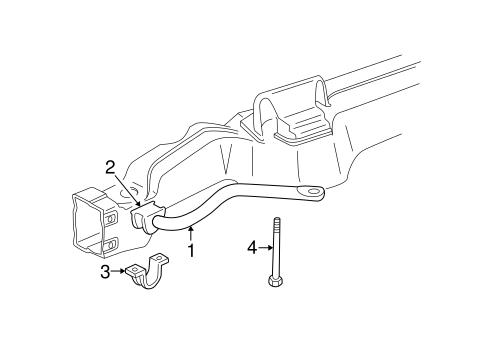 Stabilizer Bar & Components for 1991 GMC Safari