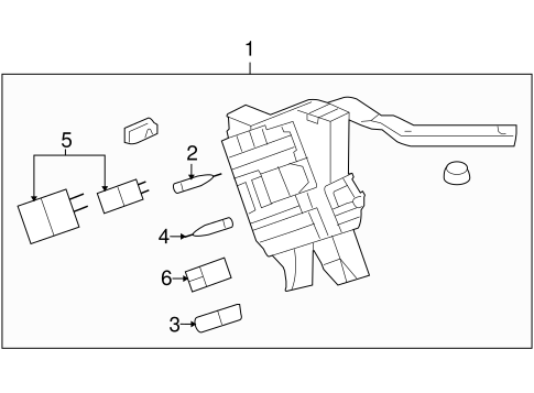 ELECTRICAL COMPONENTS for 2005 Buick Terraza