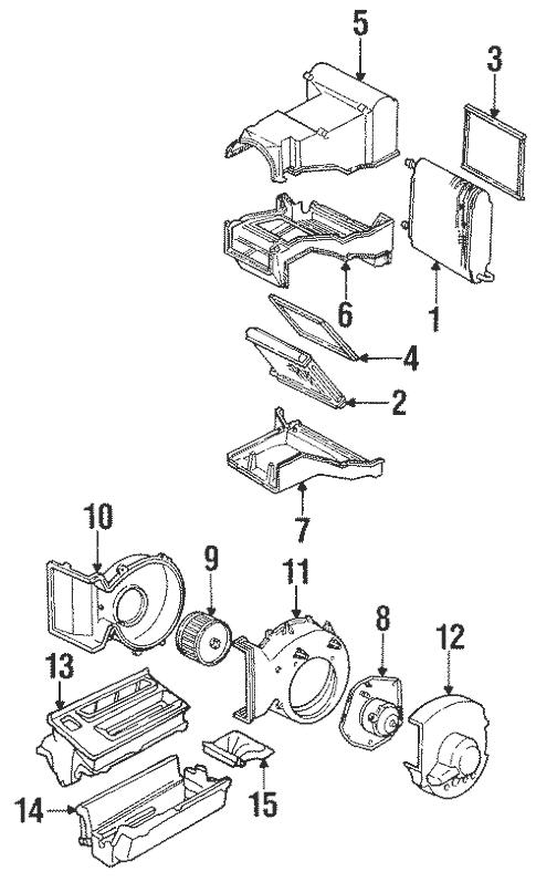 Condenser, Compressor & Lines for 1998 GMC Suburban C1500
