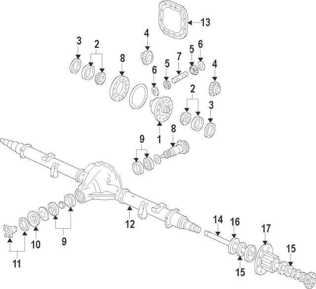 Ford F-250/350/450/550 Super Duty Differential Pinion Gear