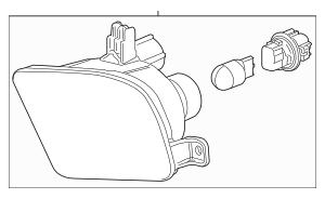 Honda Light Assembly, L Front Turn & Parking 33350-THR-A11