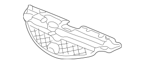 2005-2006 Acura RSX HATCHBACK Cover, Front Grille 71121