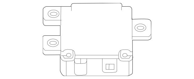2015-2018 Mercedes-Benz Control Module 176-900-57-02