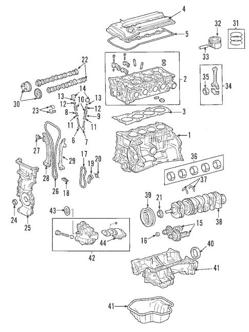 Genuine OEM Engine Parts for 2008 Toyota RAV4 Limited