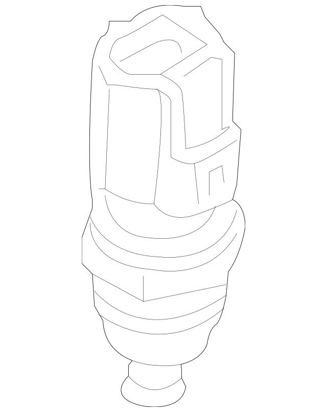 Genuine Ford Engine Coolant Temperature Sensor 9U2Z-12A648